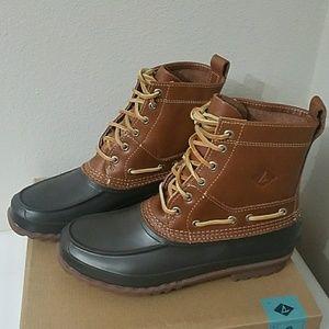 Men's Sperry Tan/Brown Decoy Rain Swow Boot